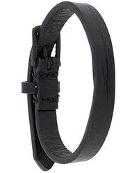 DIESEL Smalle Armband - Zwart