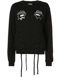 Haculla Evil Eye Sweater - Black