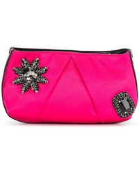Pinko - Embellished Clutch - Lyst