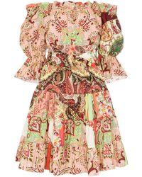 Etro Платье С Принтом Пейсли - Многоцветный