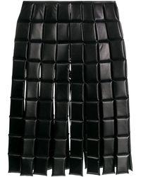 A.W.A.K.E. MODE キルティング スカート - ブラック