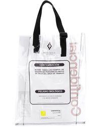 Marcelo Burlon Warning Tote Bag - Multicolour