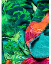 Versace Пляжное Полотенце Jungle - Синий