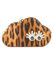 Sophie Hulme - Leopard Print Cloud Coin Purse - Lyst