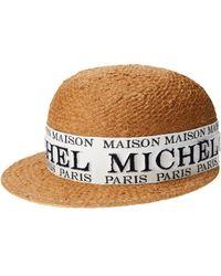 Maison Michel Rie キャップ - マルチカラー
