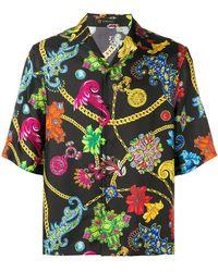 Versace - Camicia con stampa - Lyst
