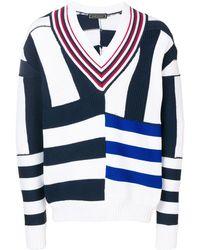 Tommy Hilfiger ストライプ セーター - ブルー