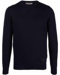 Corneliani ロゴ セーター - ブルー