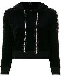 Juicy Couture - Exclusive Swarovski Embellished Velour Hoodie - Lyst