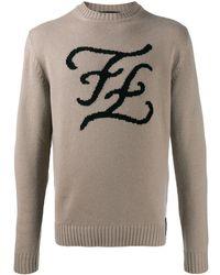 Fendi - Karligraphy セーター - Lyst