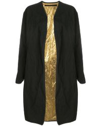 Simona Tagliaferri Oversized Coat
