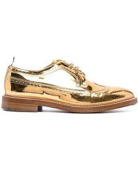 Thom Browne Zapatos de vestir Longwing - Metálico