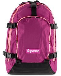 Supreme Backpack 'fw 19' - Pink