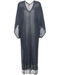 Caravana - Vestido playero estilo kimono anudado - Lyst
