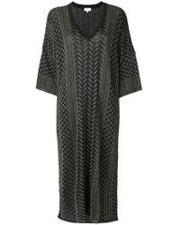 Lala Berlin - Patterned Flared Dress - Lyst