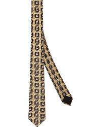Fendi Cravatta FF con stampa - Multicolore