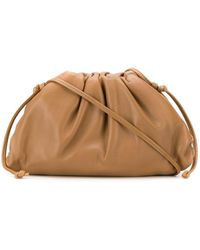 Bottega Veneta The Pouch 20 Crossbody Clutch - Bruin