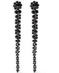 Simone Rocha Bead Drip Earrings - ブラック