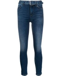 Liu Jo Jeans in Acid-Wash-Optik - Blau