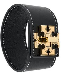Tory Burch - Double T Band Bracelet - Lyst