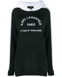 Karl Lagerfeld - Rue St Guillaume パーカー - Lyst