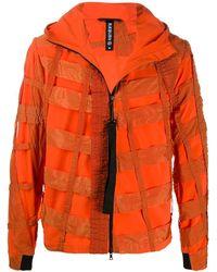 Raeburn Air Brake Hooded Windbreaker - Orange