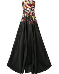 Carolina Herrera - フローラル ドレス - Lyst