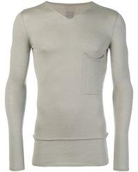 Rick Owens - Fijn Gebreid Getailleerd Sweater - Lyst