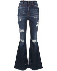 Dolce & Gabbana ブーツカットジーンズ - ブルー