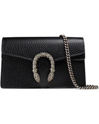 Gucci Мини-сумка 'dionysus' - Черный