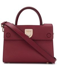 Dior Pre-owned Top Handle Tote Bag - Red