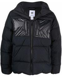 adidas Regen フーデッド パデッドジャケット - ブラック