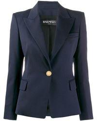 Balmain - Single-breasted Tailored Blazer - Lyst