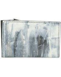 South Lane Avant Raw Wallet - White