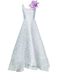 Bambah Вечернее Платье 'argentina Princess' - Металлик