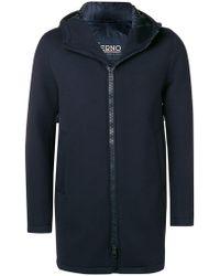 Herno - Soft Zipped Coat - Lyst
