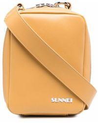 Sunnei Sac à bandoulière à logo - Neutre