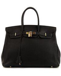 Hermès Borsa tote Birkin Pre-owned - Nero