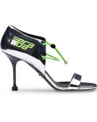 c21c6285e65 Prada - Elasticized Cords Sandals - Lyst