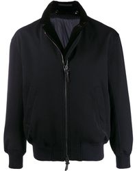 Giorgio Armani ボンバージャケット - ブラック