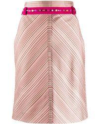 Louis Vuitton Gonna dritta anni 2000 Pre-owned - Rosa