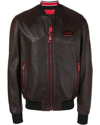 Philipp Plein Куртка-бомбер На Молнии - Черный