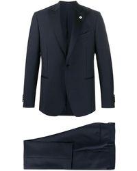 Lardini フォーマル スーツ - ブルー