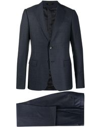 Z Zegna - チェック ツーピース スーツ - Lyst