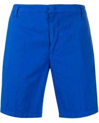 Dondup Mid-rise Chino Shorts - Blue