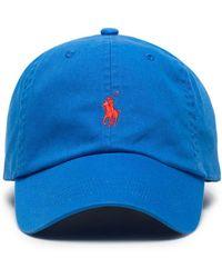 Polo Ralph Lauren Pet Met Logo - Blauw