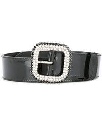 KATE CATE - Embellished Buckle Belt - Lyst