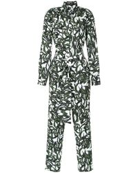 Andrea Marques - Shirt Style Jumpsuit - Lyst