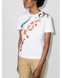 Ferragamo Signature プリント Tシャツ - マルチカラー