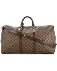 Louis Vuitton Pre-owned Keepall Bandouliere 55 2way Bag - Brown